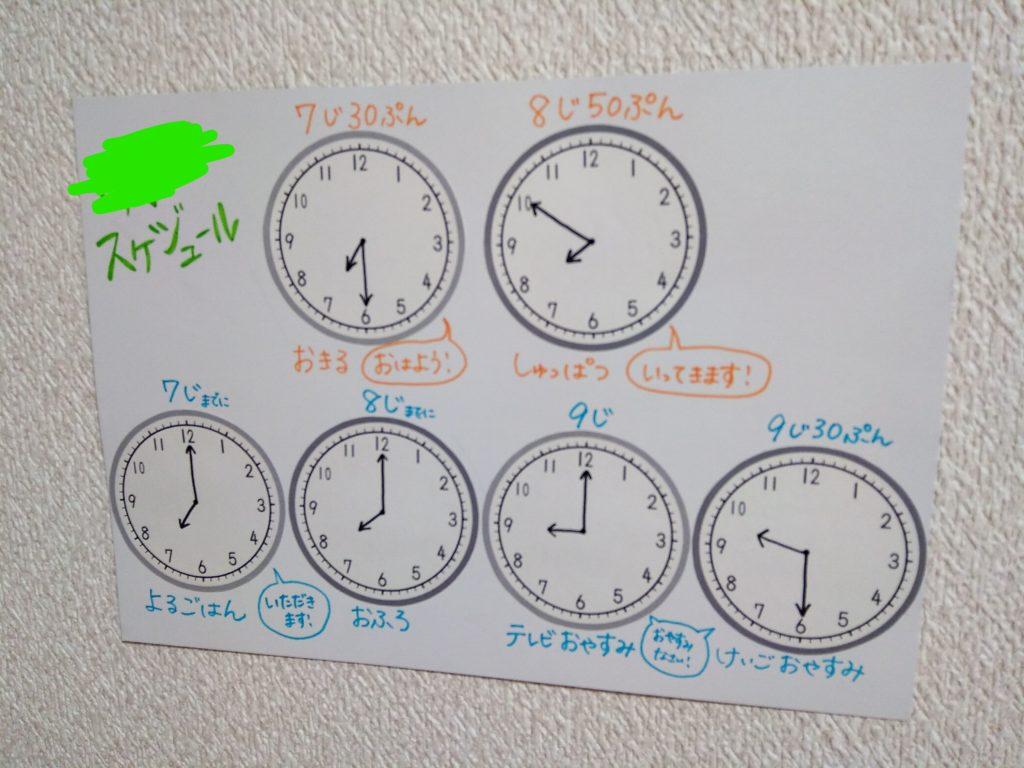 時計プリント